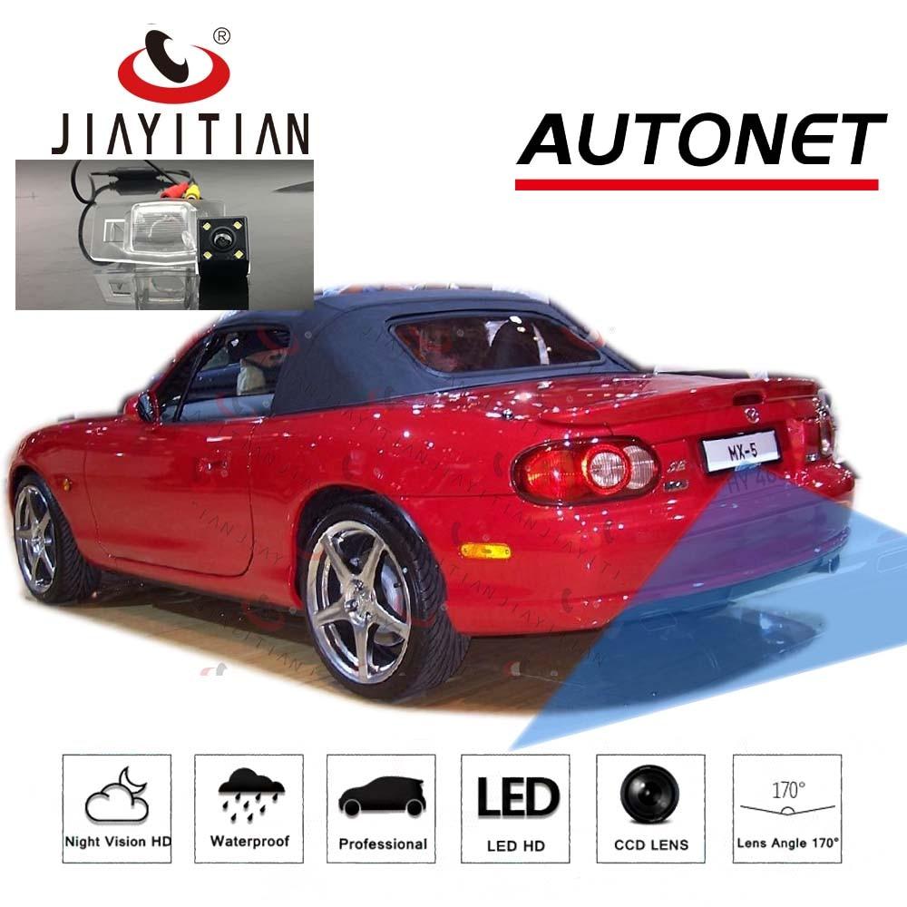 JIAYITIAN Rear View Camera for Mazda MX5 MX-5 Miata Roadster/CCD/Night Vision/Reverse Camera/Backup Camera license plate camera