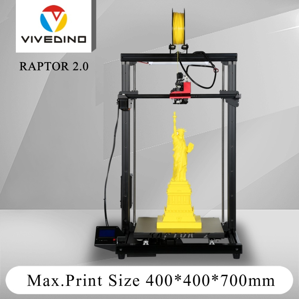 Loveedino Raptor 2 + طابعة ثلاثية الأبعاد, دقة عالية ، إطار معدني بالكامل ، شعبية ، تصميم جديد