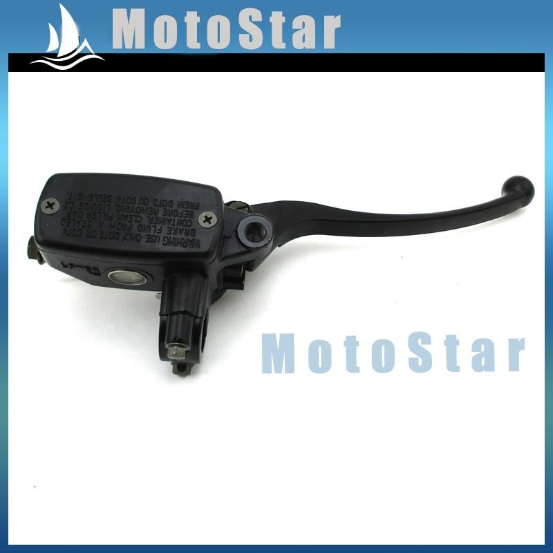 Palanca de Control de mango para cilindro principal de freno delantero de 22mm y 7/8 pulgadas para motocicleta Suzuki GS750 GS1000 GS1100E GS1150