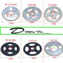 Mini Moto Quad poche pour vélo   Dents 38T 44T 54T 64T 74 T T8F 35MM, pignon arrière, Mini Moto Quad ATV pièces 447cc 49cc