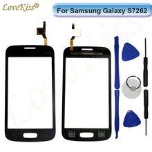 Panneau avant pour Samsung Galaxy Star Pro S7260 Plus S7262 GT-S7262 capteur décran tactile LCD affichage numériseur verre TP remplacement