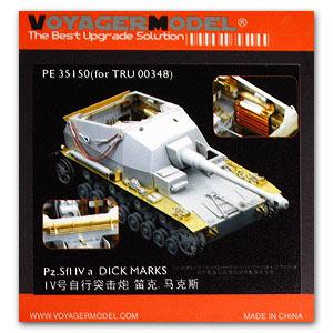 knl hobby modelo voyager pe35150 pz sfl iva de 105cm artilaria autopropelida e ldquo pau max rdquo