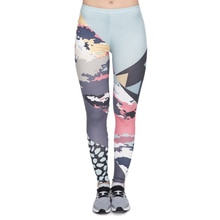 Nouveau leggins mujer moderne camouflage impression legging sexy feminina leggins fitness femme pantalon jambières dexercices