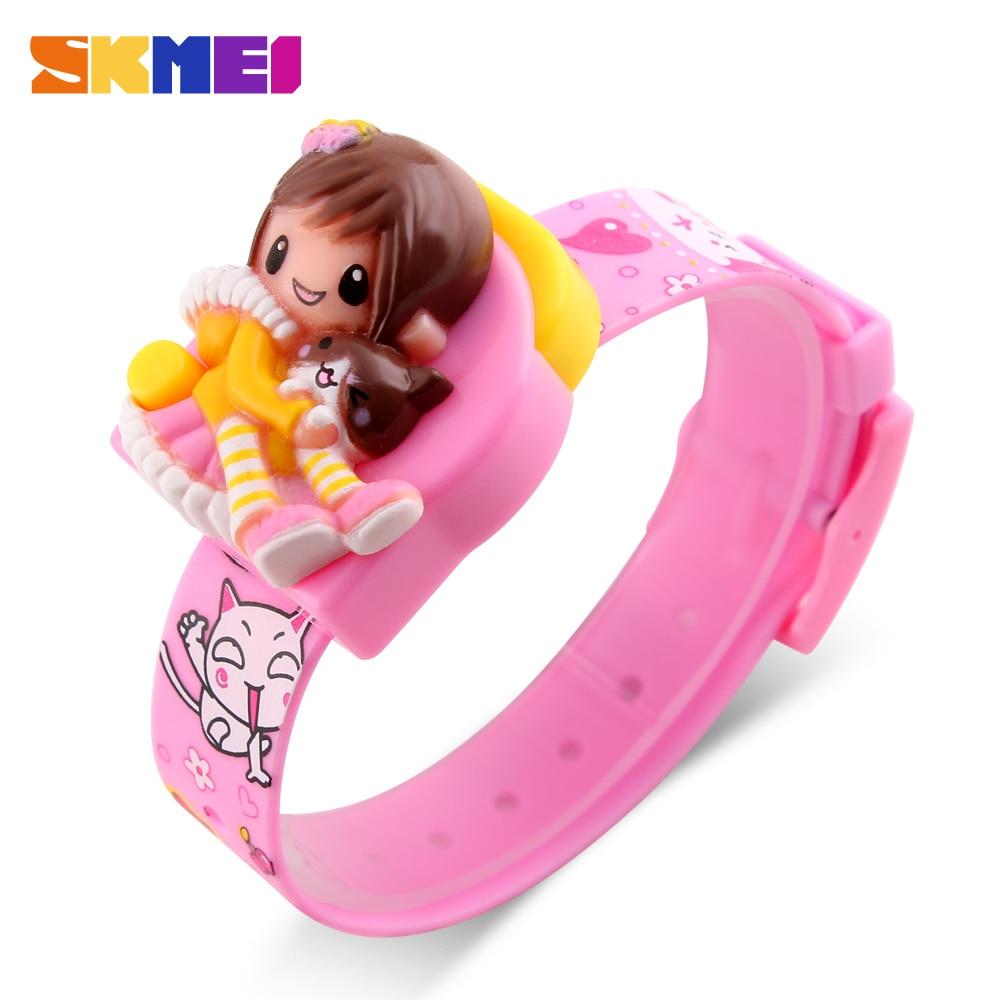 SKMEI новые детские цифровые часы с героями мультфильмов, модные студенческие милые детские часы, спортивные наручные часы