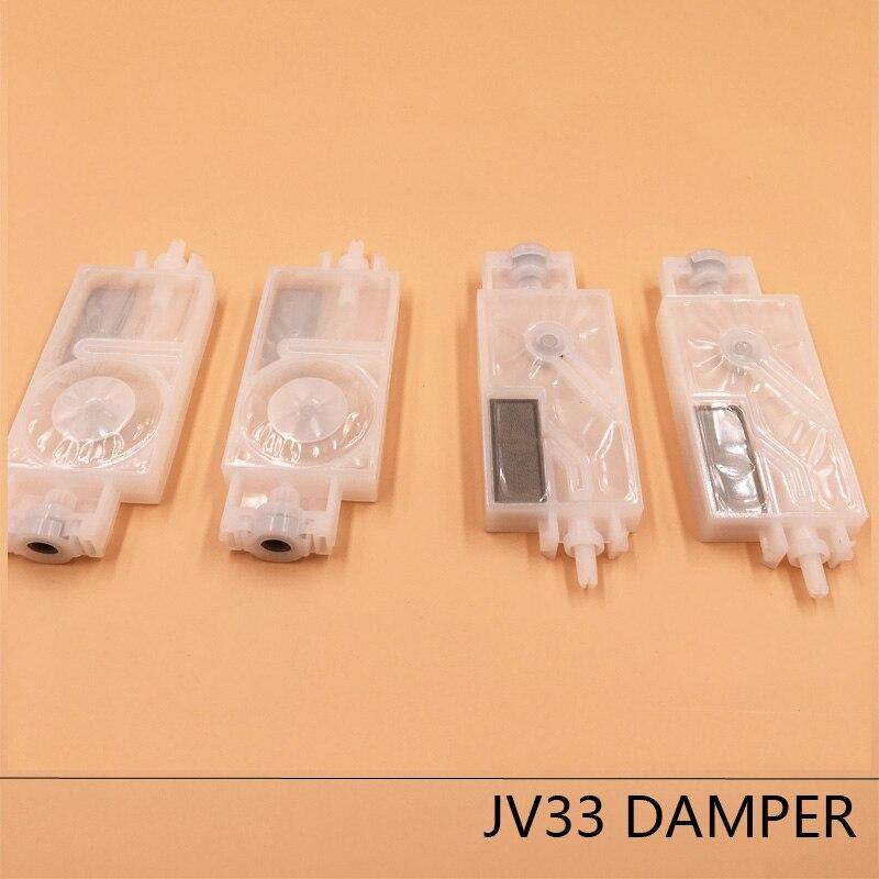 10pcs dx5 printhead damper Solvent base ink filter Mutoh Galaxy Twinjet Human wit color Mimaki JV5 CJV30 JV33 head dx5 damper