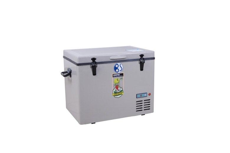 12v compresor de coche refrigerador portátil congelador barco refrigerador Mini nevera Solar-Powered a Russian-45L