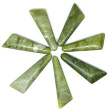 Spa pierre verte pierres de beauté Massage lave pierre naturelle soulager le Stress détendre jade ensemble de massage massage des orteils