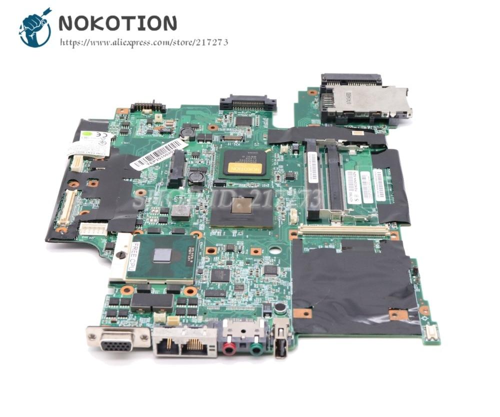 NOKOTION R61 R61I 42W7883 Para Lenovo Thinkpad Laptop Motherboard 15.4 Polegada 965GM DDR2 cpu Livre