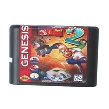 Regenwurm Jim 2 16 bit MD Spiel Karte Für Sega Mega Drive Für Genesis