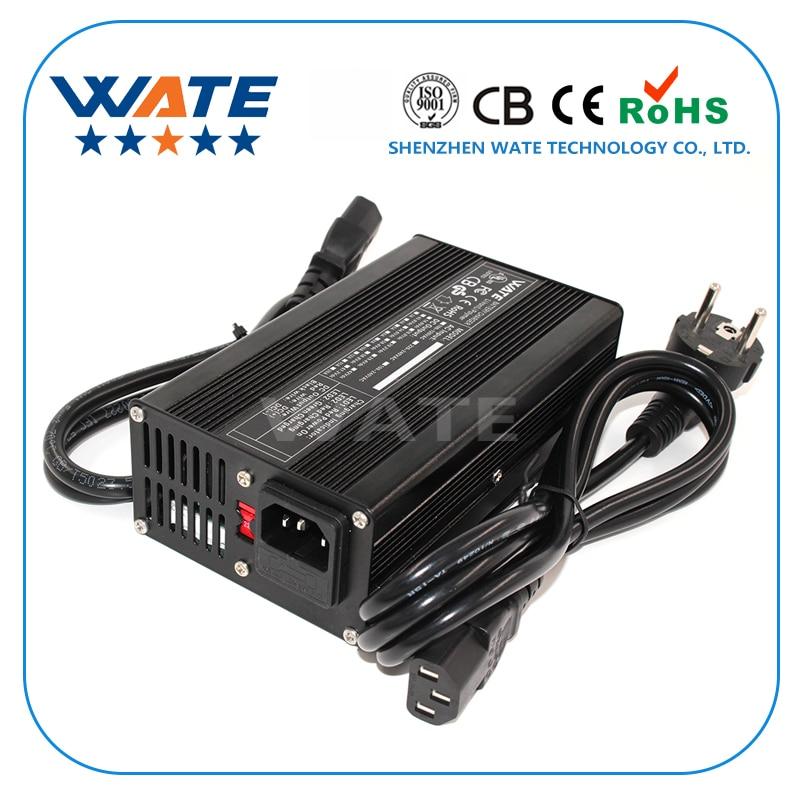 Cargador 54,6 V 3A 13S 48V e-bike Li-ion batería inteligente Lipo/LiMn2O4/LiCoO2 cargador de batería certificación Global