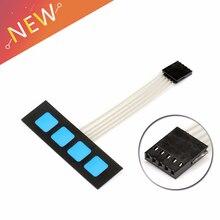 Panneau de commande de clavier à Membrane   4 clés, clavier étendu pour Arduino 1x4 sans mots