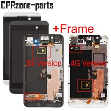 "4.2 ""lcd met frame Voor BlackBerry Z10 4G/3G Versie STL100-1 STL100-2 STL100-3 lcd touch screen digitizer vergadering"
