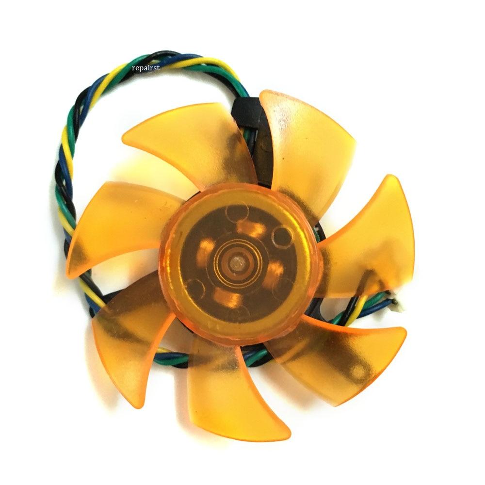 FD5010U12S pld05010s12h 47MM 39MM mounting 4Pin DC 12V 0.22A VGA Cooler Fan For Radeon ZOTAC 9400GT 9500G Video Card cooling
