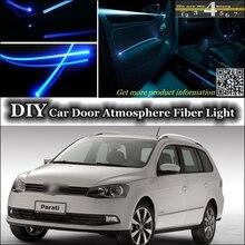 Bande lumineuse de Fiber optique pour Volkswagen   Lumière ambiante intérieure, réglage de latmosphère, VW Gol Parati pointeur, Saveiro Voyage G2 G3 G4 G5