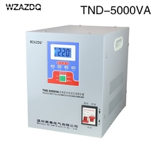 Single-phase household TND-5KVA  automatic voltage regulator 5KW computer 220V refrigerator voltage stabilizer power