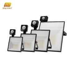 LED PIR projecteur capteur de mouvement éclairage réglable 15W 30W 45W 60W 220V SMD2835 IP65 pour mur extérieur jardin Garage lampe