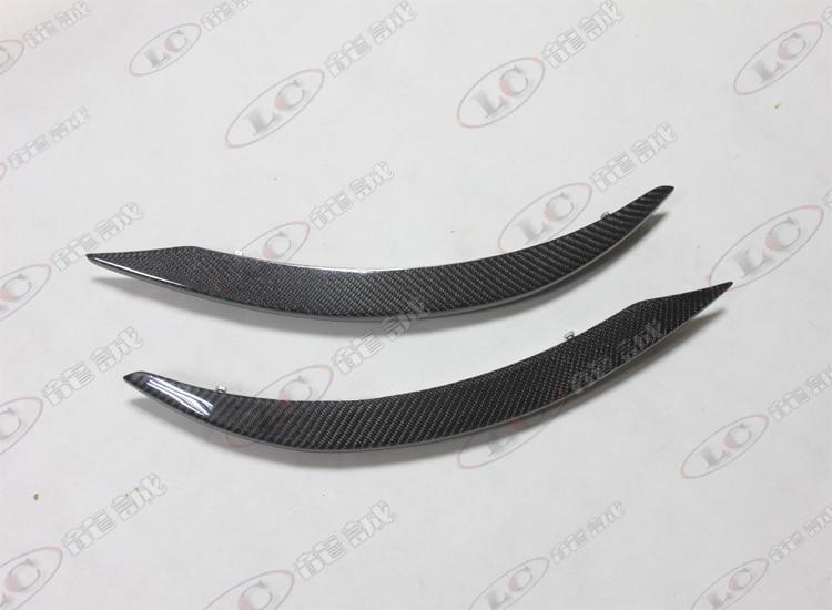 Ajuste para Mercedes Benz W117 CLA260 250 CLA45 P fibra de carbono decoración de ventilación de aire cuchillo de viento bomba de malla de alambre