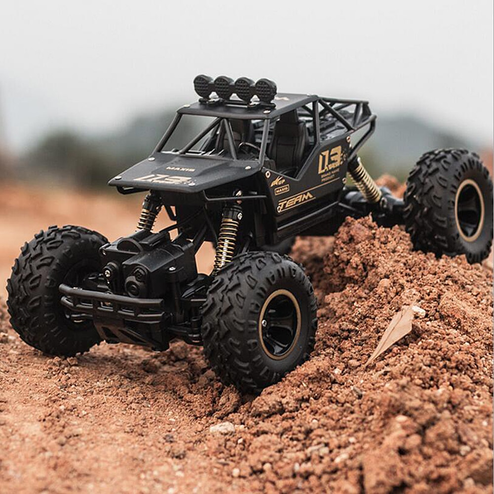 1/16 4WD RC coche versión actualizada 2,4G Radio Control coches RC de juguete Bigfoot coche modelo vehículo juguetes para niños regalo Dropshipping