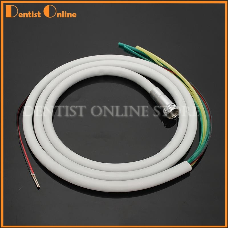 5PCS Dental Silicone Tube Hose Tubing 6 Hole Fit Fiber Optic LED High Speed Handpiece