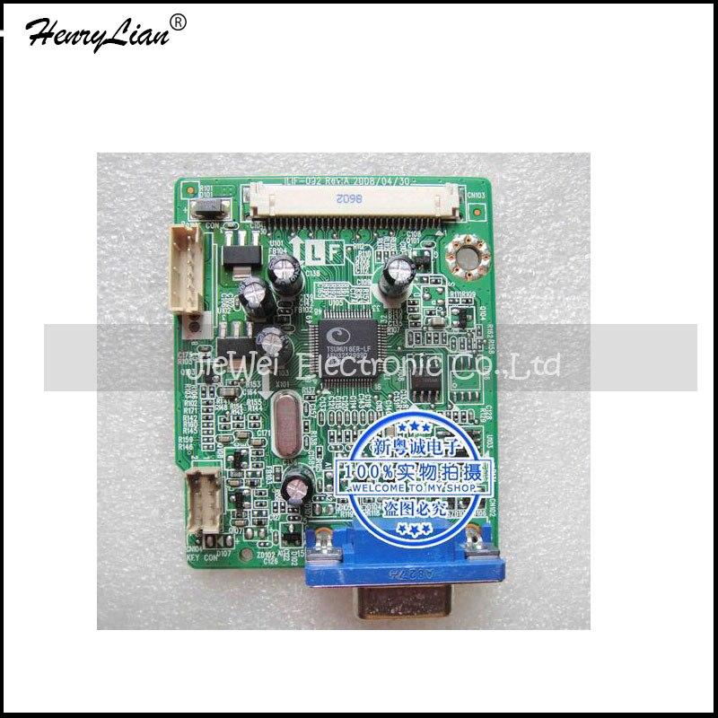 HENRYLIAN free shipping    W2043SE-PF driver board ILIF-092 491441300100R motherboard