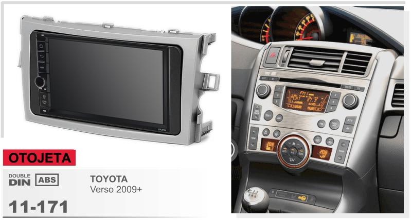Navirider GPS Bluetooth stereo android 9.1 car multimedia for Toyota Verso 2009 Corolla navigation autoradio+camera+carplay