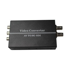 Convertisseur L/R av/SDI de haute qualité, convertisseur vidéo cvbs vers HD-SDI/3G-SDI pour caméra HDTV