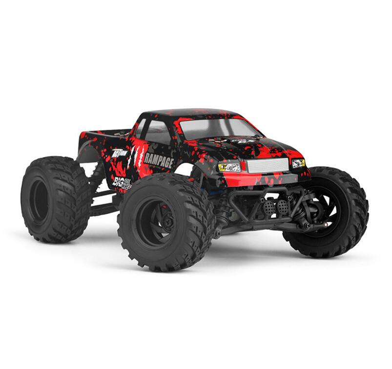 New arrival RC model toy 18859E 35-40km/h 4WD 2.4Ghz 1:18 Scale High Speed Remote Control Car Electric Off-road Vehicle model enlarge