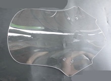 Windshield Pare-brise For HONDA CB190R CB 190R Motorcycle Accessories Windscreen Smoke 40CM