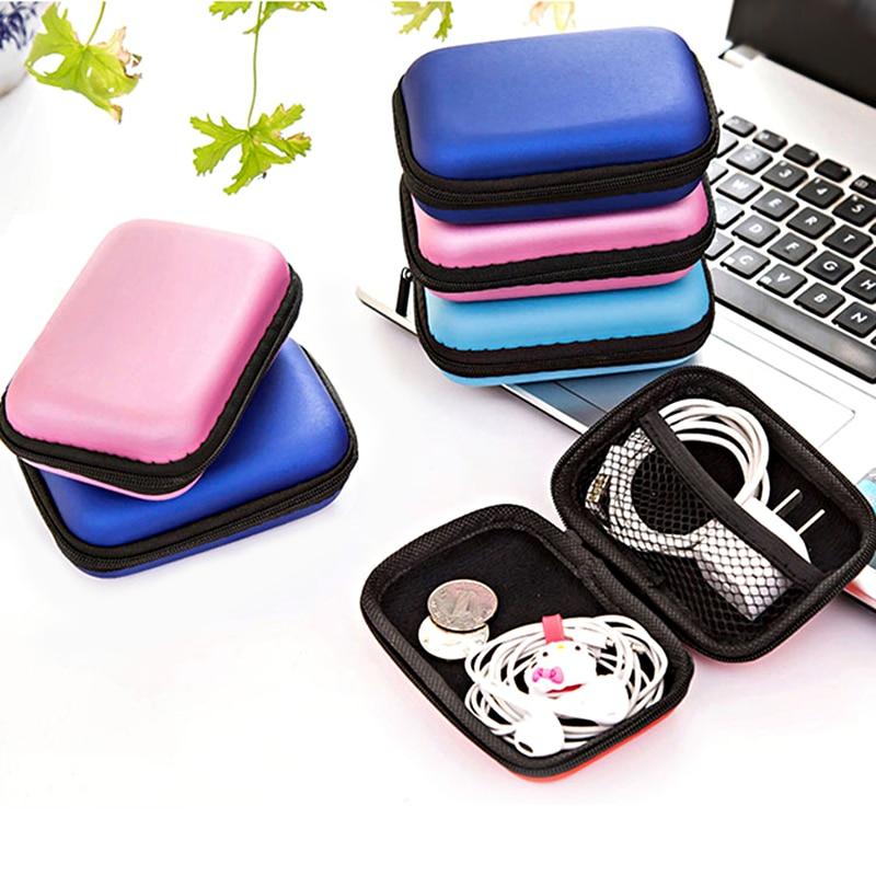 Bolsa de accesorios de viaje, Cable de datos, paquete de almacenamiento Digital, accesorios electrónicos, bolsa de auriculares portátiles para dispositivos digitales