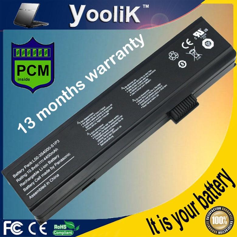 Batería del ordenador portátil para Fujitsu Amilo PA1510 Li1818... Li1820 Pi1505... Pi1506 Pa1510... Pi2512... Pi2515... Pi2530... Pi2540... Pi2550 L51-3S4400-S1S5