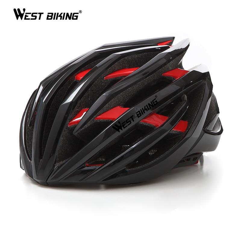 WEST BIKING Ultralight Cycling Helmet 24 Air Vents Double Layer Casco Ciclismo Sport Road MTB Bike Helmet Cycling Bicycle Helmet