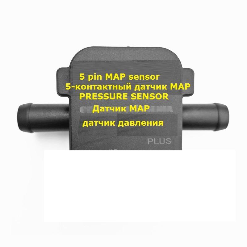 High quality LPG CNG MAP Sensor 5-PIN  Gas pressure sensor for  LPG CNG conversion kit for car