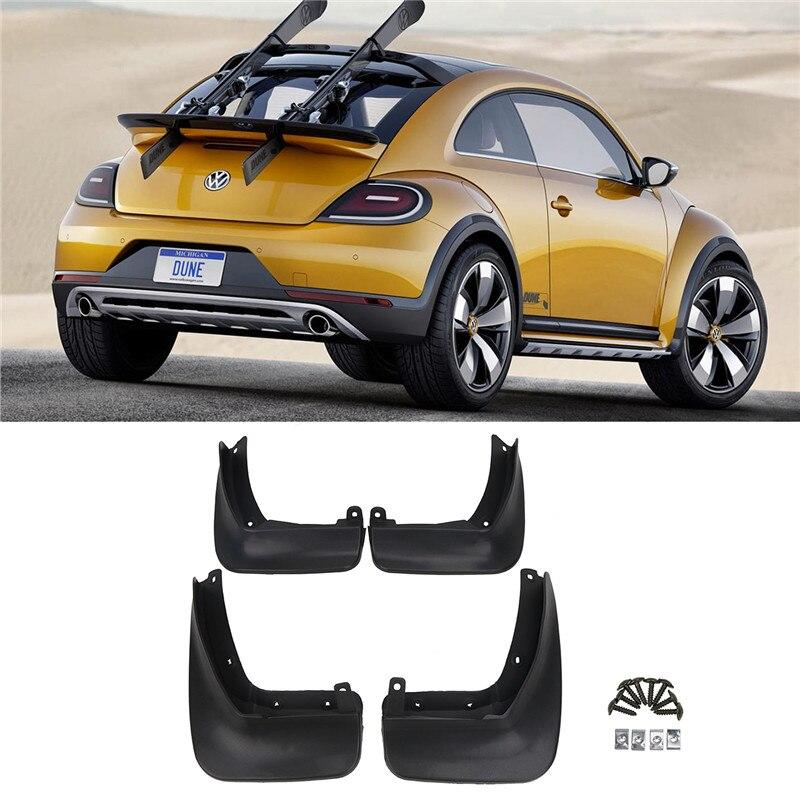 Guardabarros de coche para Volkswagen VW Beetle 2012-2017 delantero trasero moldeado guardabarros/
