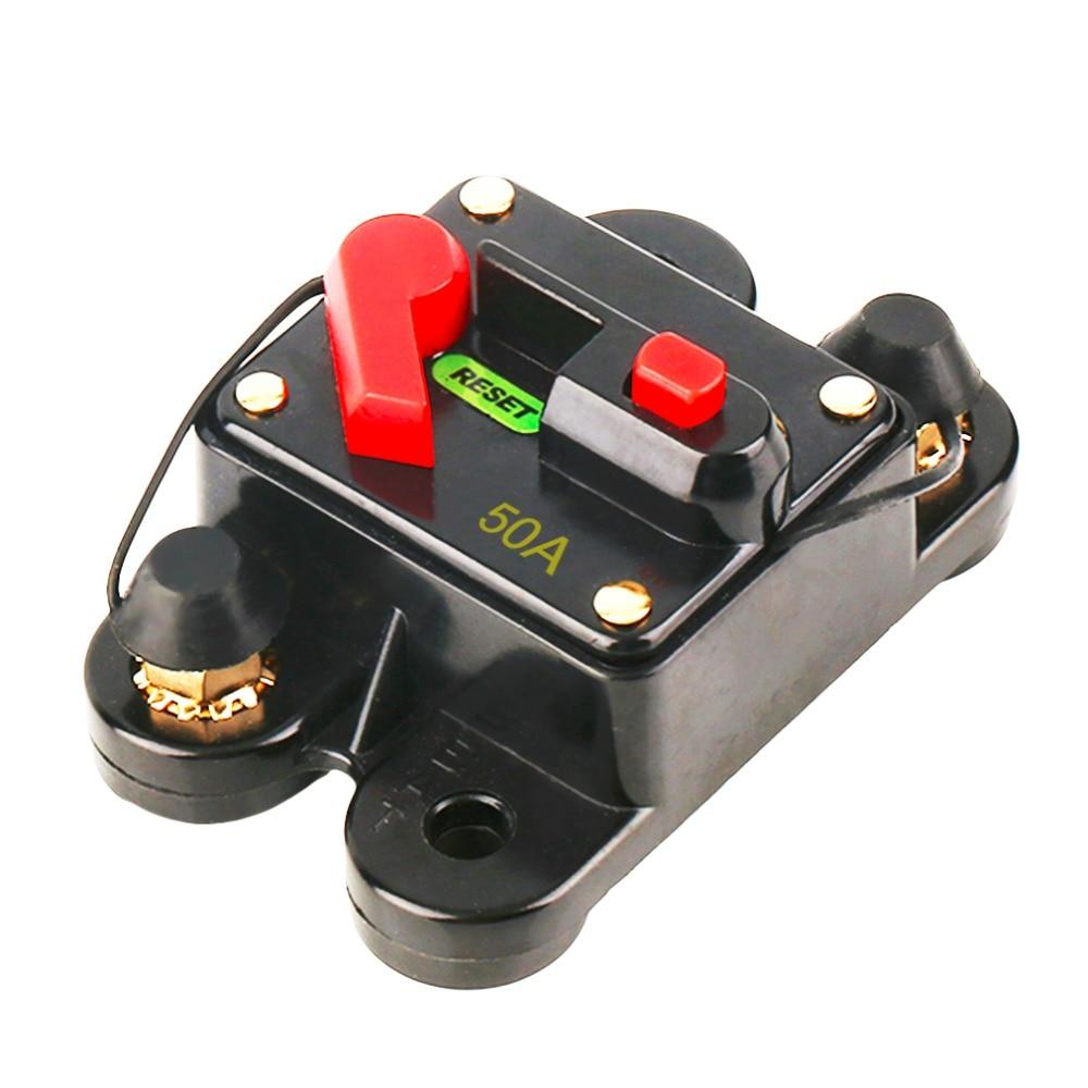 50A 60A 80A 100A 125A 150A 200A дополнительный автомобильный аудио встроенный выключатель предохранитель для 12 В защита SKCB-01-100A горячая распродажа