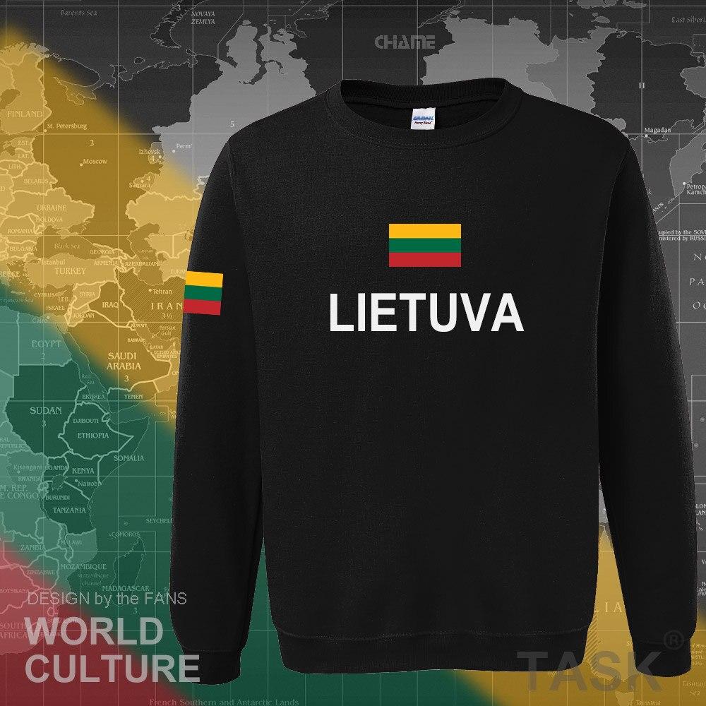Litauen Litauisch hoodies männer sweatshirt schweiß neue nation 2017 streetwear kleidung sporting trainingsanzug LTU Lietuva Lietuvos