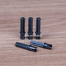 50-100pcs/lot Decool TECHNIC Axle with short Pin 1x3 compatible 18651 Blocks bricks MOC Parts