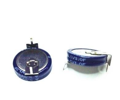 Condensador Super condensador farad 5.5V1F tipo H condensador de doble capa Farah capacitancia 1F 5,5 V