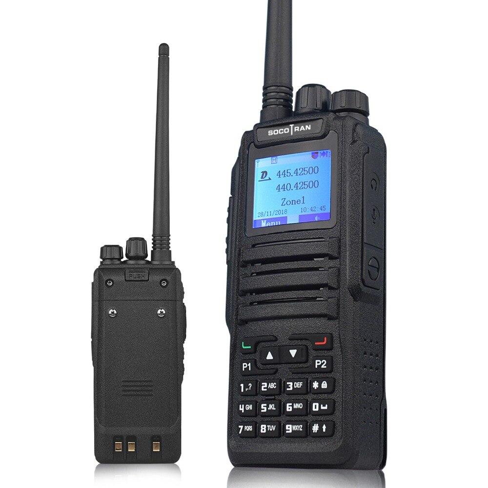 להקה כפולה מכשיר קשר דיגיטלי DM-1701 DMR דו דרך רדיו חם חובב רדיו כפול זמן חריץ Tier II ( dm-5r בתוספת שדרוג גרסה)