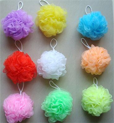 Flower Bath Ball Bath Tubs Cool Ball Bath Towel Scrubber Body Cleaning Mesh Shower Wash Sponge For B