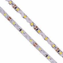 S shape type SMD 2835 LED Strip 5m Cold white / Warm white/blue/green/red 12V 300leds Bendable Flexible led light Non Waterproof