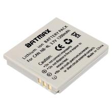 Batmax 1Pc NB-4L NB 4L NB4L Rechargeable Battery for Canon Digital IXUS 100 110 30 IS IXY IS i7 ELPH 100 HS ELPH 300 HS ELPH 310