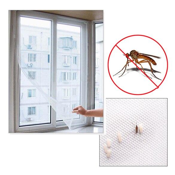 Novo 200cm x 150cm diy flyscreen cortina inseto mosca mosquito bug janela malha tela venda dc112