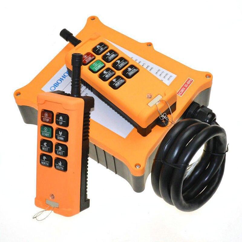 2 سرعة 2 جهاز إرسال 8 قنوات شاحنة رافعة ونش راديو تحكم عن بعد نظام