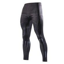 Черные Пантеры с 3D принтом, леггинсы, мужские компрессионные колготки, штаны, 2018, новые обтягивающие спортивные штаны, мужские брюки для фитнеса