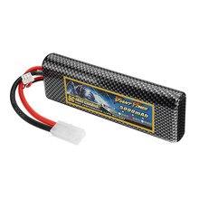 Batterie Lipo Rechargeable de puissance géante 7.4 V 5000 mAh 50C 2 S avec prise TAMIYA pour modèle RC