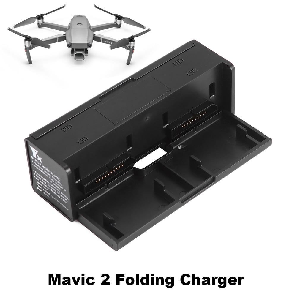 Mini chargeur Intelligent Drone batterie parallèle chargeur Hub pour DJI Mavic 2 Pro Zoom avec batterie daffichage Balance Portable