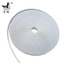 Courroie de chronométrage T5 10 mètres   Pas ouvert 5mm largeur 10mm en polyuréthane avec noyau en acier pour 10000 T 5 longueur mm
