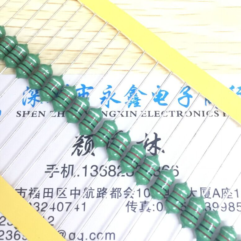 Envío Gratis 100 Uds venta nuevo 1W inductancia anillo de color DIP 0510 1000UH 1MH Inductor