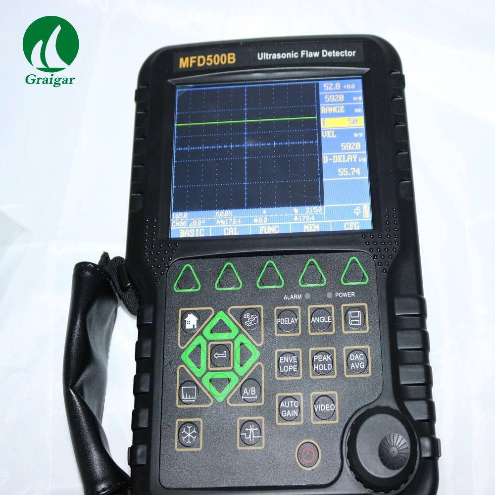 MITECH MFD500B portátil digital ultrasónico defecto Detector