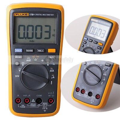Fluke 17B + Автоматический диапазон цифровой зонд мультиметр Измеритель температуры и частоты де доставка